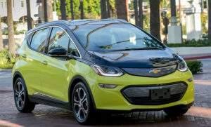 Доступный электрокар Chevrolet Bolt EV