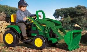Детский электротрактор