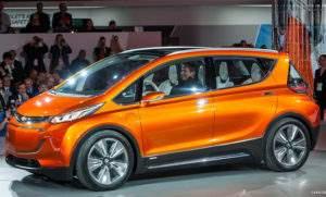 Дизайн Chevrolet Volt EV