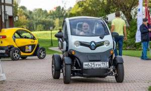 Французский электромобиль