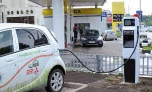 Электрозаправочная станция в России