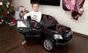 Хранение детского электромобиля