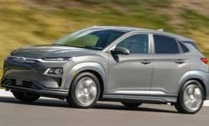 Сравнение с Hyundai Kona EV