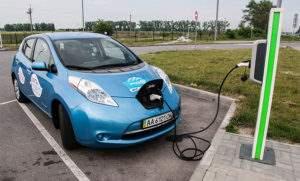 Электромобиль в Украине