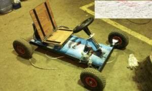 Кузов детского электромобиля