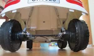 Подвеска детского электромобиля