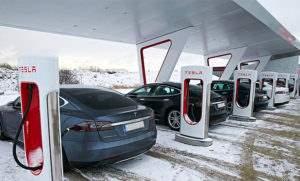 Сеть суперзарядок Tesla