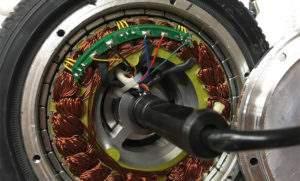 Внутренняя часть мотор-колеса