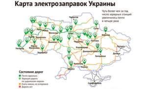 Заправочные станции в Украине