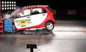 Краш-тест Mitsubishi i-MiEV