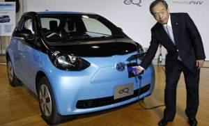 Электромобиль Тойота