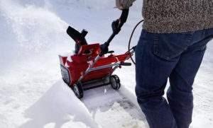Несамоходная снегоуборочная машина