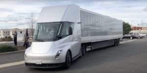 Экстерьер Tesla Semi