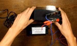 Зарядка аккумулятора