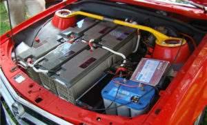Батарея на электромобиль