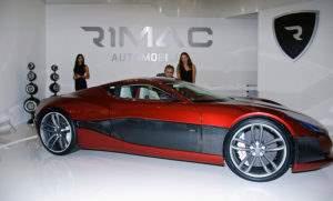 Электромобиль от компании Rimac Concept One