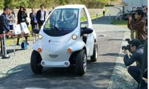 Японский электромобиль