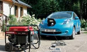 Зарядка от бензогенератора