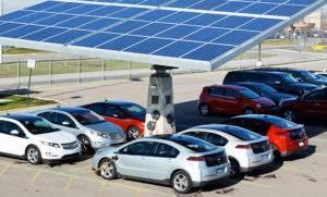 Зарядка от солнечной батареи