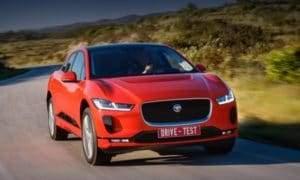 Модельный ряд электрокаров Jaguar