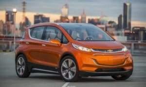 Модельный ряд электрокаров Chevrolet