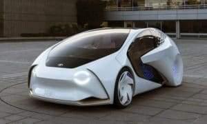 Модельный ряд электрокаров Toyota