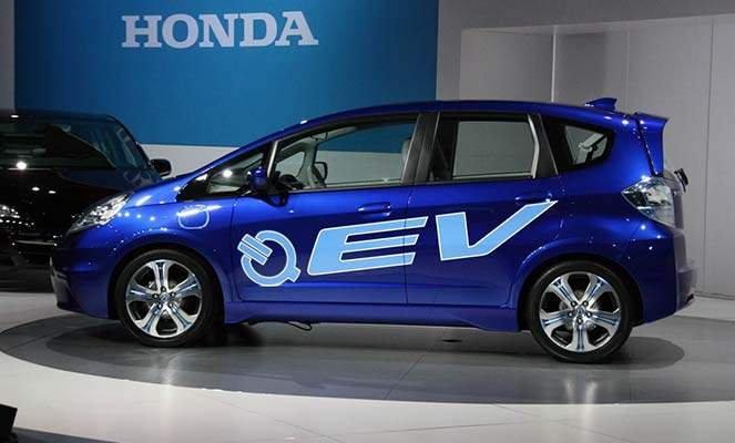 Электромобиль Хонда Fit EV