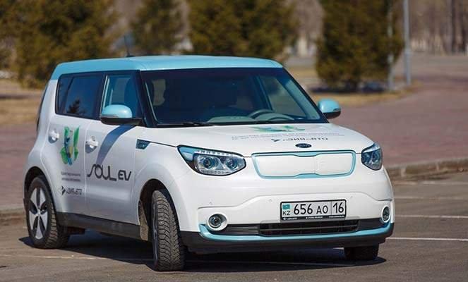 Электромобиль KIA Soul EV в Казахстане