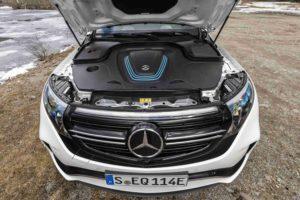 Технические характеристики электромобиля Мерседес Бенц