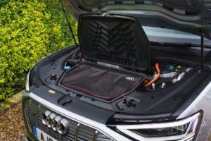 audi e tron sportback charging cables