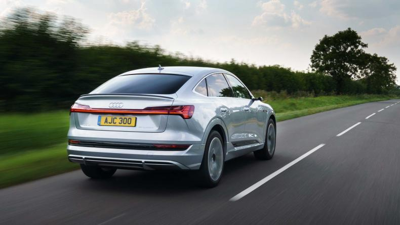 audi e tron sportback rear tracking 2
