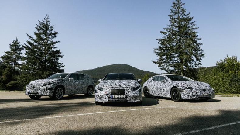 Электромобили Mercedes EQ