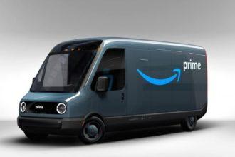 Amazon Rivian Van