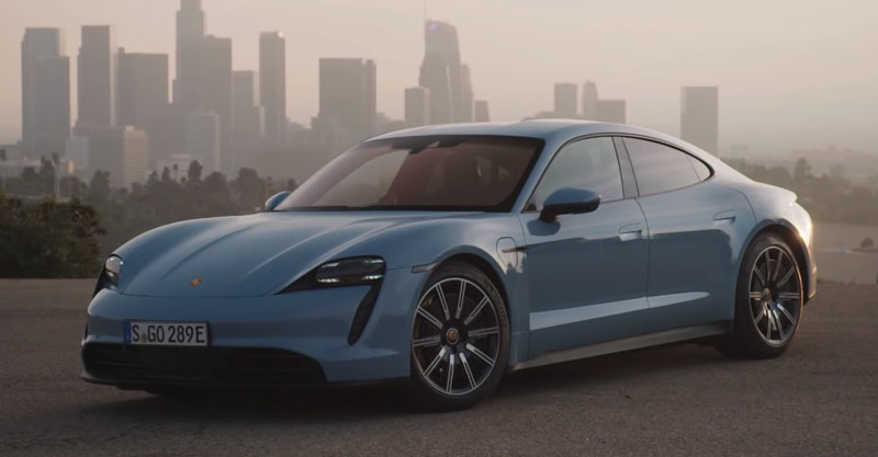 Porsche Taycan 4S 93 кВт/ч - 462 км