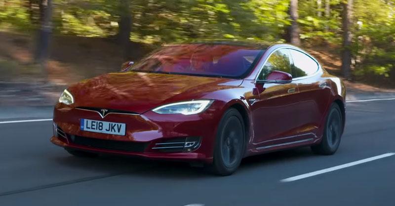 Tesla Model S Long Range - 604 км
