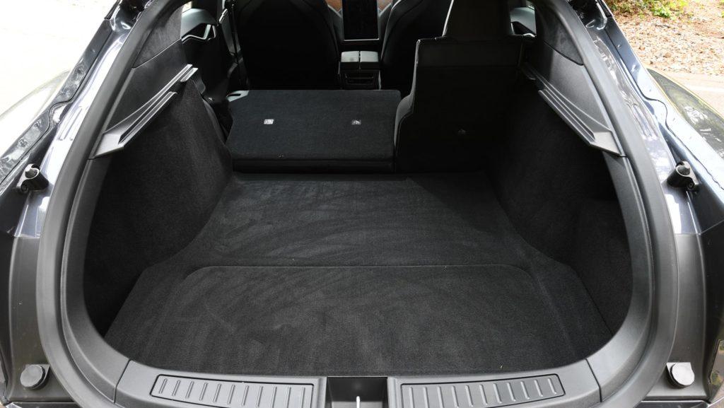 Багажник тесла модель с